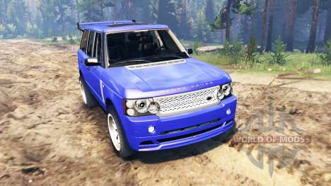 Range Rover Sport pour Spin Tires