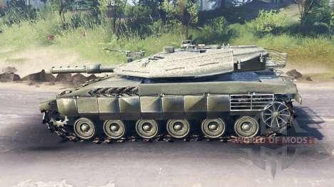 Merkava Mk.4 für Spin Tires
