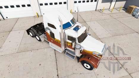 Haut Hatd Truck auf truck-Kenworth W900 für American Truck Simulator