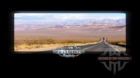 Les écrans de chargement de la Californie pour American Truck Simulator