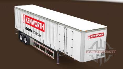 Rideau semi-remorque Kenworth pour American Truck Simulator