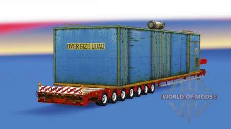 Bas de balayage avec des charges différentes. pour American Truck Simulator