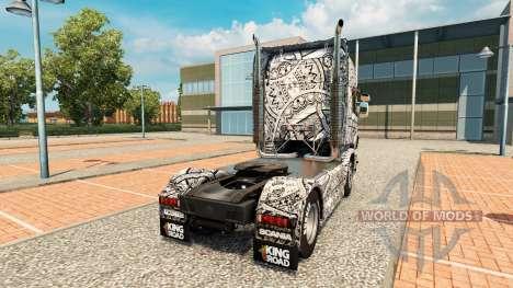 Batik Indonésie peau pour Scania camion pour Euro Truck Simulator 2