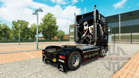 Joker-skin für den Scania truck für Euro Truck Simulator 2
