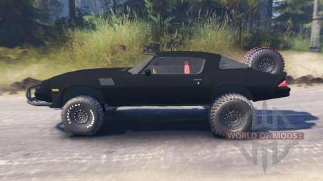 Chevrolet Camaro [offroad edition] für Spin Tires