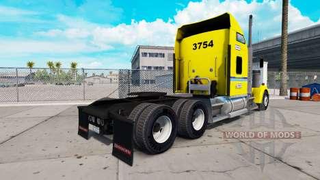 La peau sur Penske camion Kenworth W900 pour American Truck Simulator