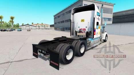 Haut MS die truck-Kenworth W900 für American Truck Simulator