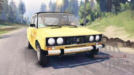 VAZ-2106 für Spin Tires