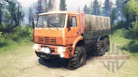 KamAZ-6522 [aktualisiert] für Spin Tires