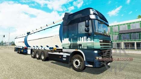 Zusätzliche chassis für Euro Truck Simulator 2