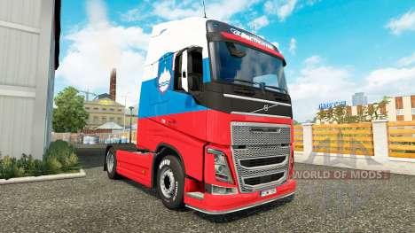 Slowenien skin für Volvo-LKW für Euro Truck Simulator 2