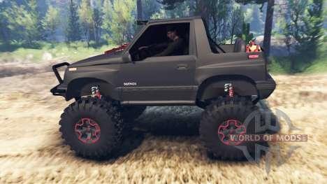 Suzuki Sidekick v2.0 pour Spin Tires