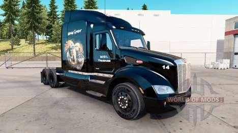 Haut Indian Spirit für LKW Peterbilt für American Truck Simulator