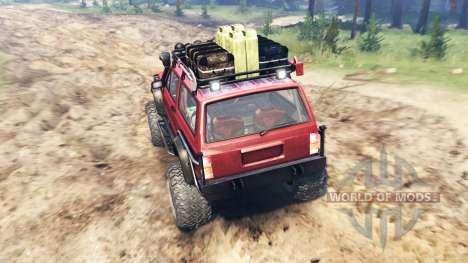 Jeep Cherokee SE für Spin Tires