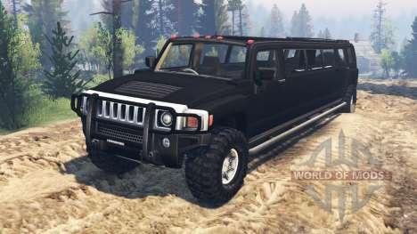 Hummer H3 [limousine] für Spin Tires