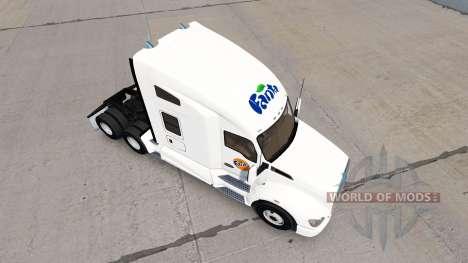 Fanta peau pour tracteur Kenworth pour American Truck Simulator