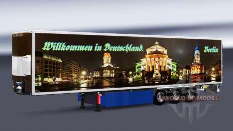 Skins auf gekühlten Auflieger für Euro Truck Simulator 2