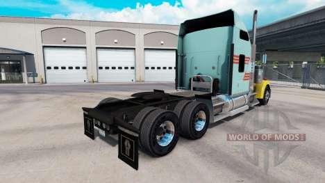 Haut-Z-Streifen-Multicolor-truck Kenworth W900 für American Truck Simulator