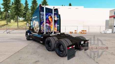 La peau des Indiens Esprit pour camion Peterbilt pour American Truck Simulator