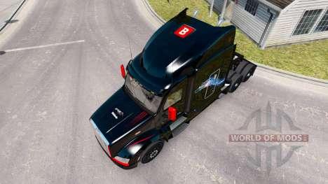 Skin Bitdefender tractor Peterbilt für American Truck Simulator
