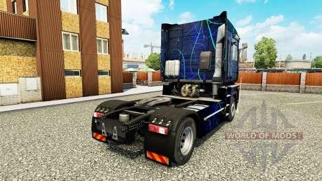 La peau de la Fumée Bleue sur tracteur Renault pour Euro Truck Simulator 2