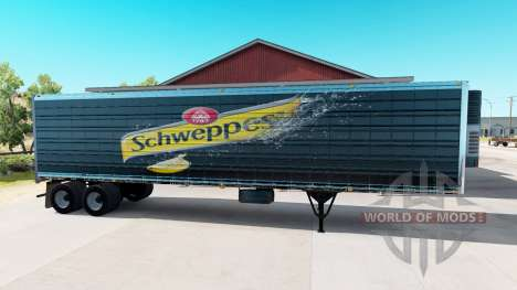 Eine Sammlung von skins für Trailer für American Truck Simulator