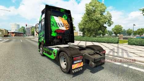 Guinness de la peau pour Volvo camion pour Euro Truck Simulator 2