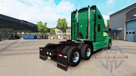 Haut auf Freightlines Kenworth-Zugmaschine für American Truck Simulator