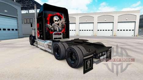 La peau sur le Crâne camion Kenworth W900 pour American Truck Simulator