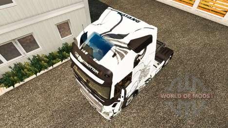 Wayang peau pour Volvo camion pour Euro Truck Simulator 2