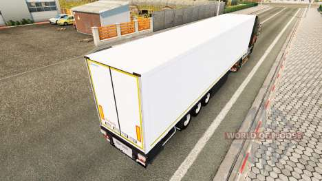 Semi-remorque SR2 le Futura FR pour Euro Truck Simulator 2
