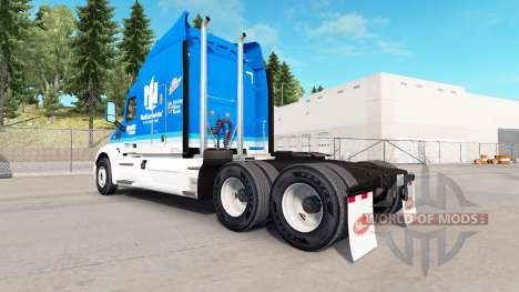 Haut Hendrick Bundesweit für LKW Peterbilt für American Truck Simulator