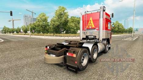 Volvo F10 P. Bjarne Andersen für Euro Truck Simulator 2