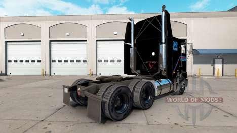 La peau Terminator 2 camion Freightliner FLAG pour American Truck Simulator