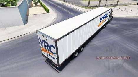 All-Metall-semi-YRC Fracht für American Truck Simulator
