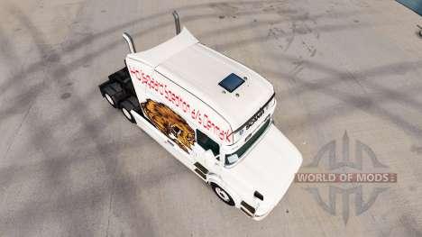 Tragen Haut für LKW Scania T für American Truck Simulator