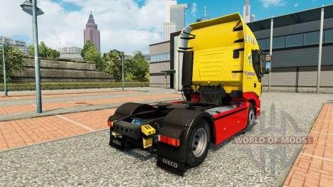 Fred Sherwood peau pour Iveco tracteur pour Euro Truck Simulator 2