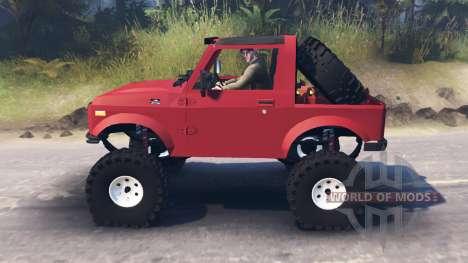 Suzuki Samurai für Spin Tires