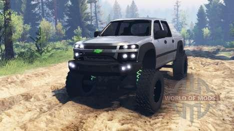 Chevrolet Colorado für Spin Tires