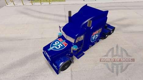 La peau de l'autoroute Interstate 95 Peterbilt 3 pour American Truck Simulator