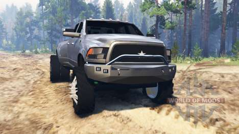 Dodge Ram 3500 Mall Crawler pour Spin Tires