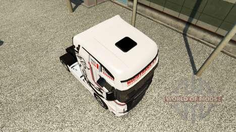 Haut NikoTrans auf Zugmaschine Scania R700 für Euro Truck Simulator 2