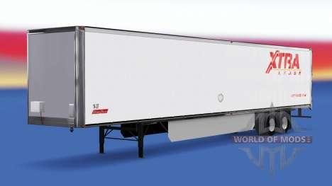 Haut Extra Mietvertrag für den Anhänger für American Truck Simulator