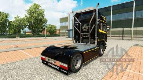 La peau Dorée Lignes sur le tracteur Scania pour Euro Truck Simulator 2