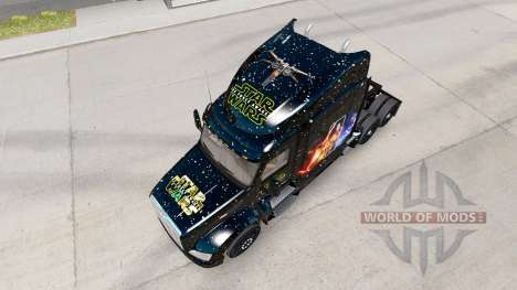 Star Wars skin für den truck Peterbilt für American Truck Simulator