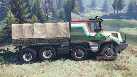 Tatra 163 Jamal 8x8 v4.0 für Spin Tires