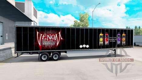 Haut von Venom auf den trailer für American Truck Simulator