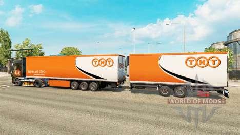 Semi-remorques Krone Gigaliner [TNT] pour Euro Truck Simulator 2