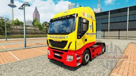 Fred Sherwood-skin für Iveco-Zugmaschine für Euro Truck Simulator 2