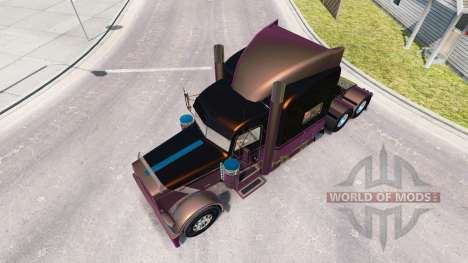 4 Metallic-skin für den truck-Peterbilt 389 für American Truck Simulator